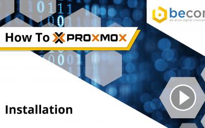Proxmox_VE 5.4 | Open-Source Virtualisierungsplattform | HowTo-Video