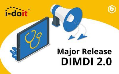 Update DIMDI 2.0: i-doit Add-on feiert Major-Release