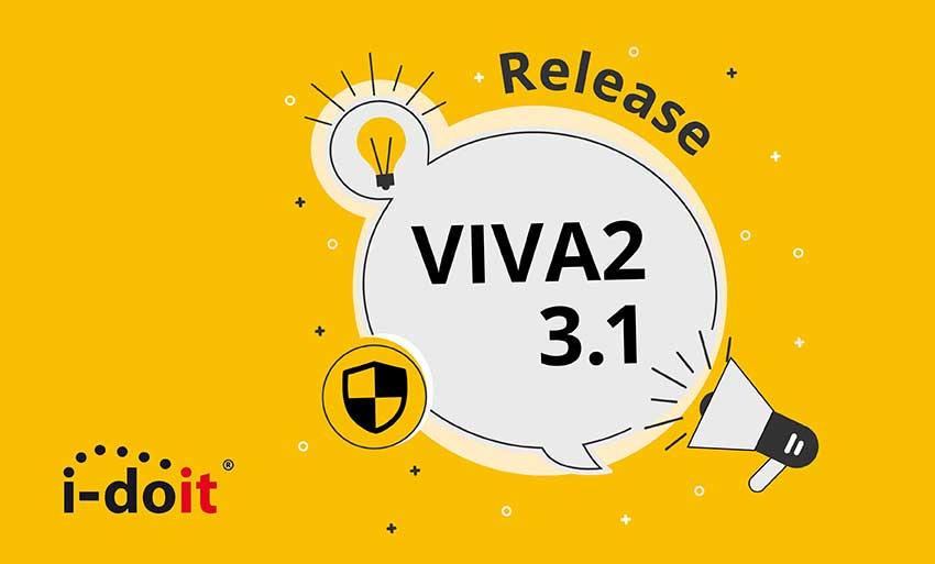 release update i-doit add-on viva2 verion 3.1 becon gmbh