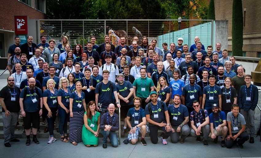 sensu summit 2018 team gruppe