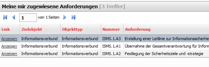 Anforderungen VIVA2 Tabelle becon GmbH