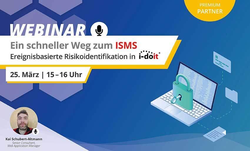Webinar ISMS i-doit becon GmbH 25.03.2021