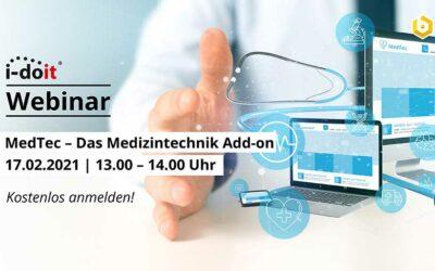 Webinar – Medizinische Dokumentation mit MedTec
