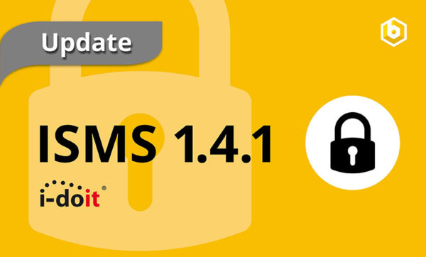 release update isms i-doit add-on information security
