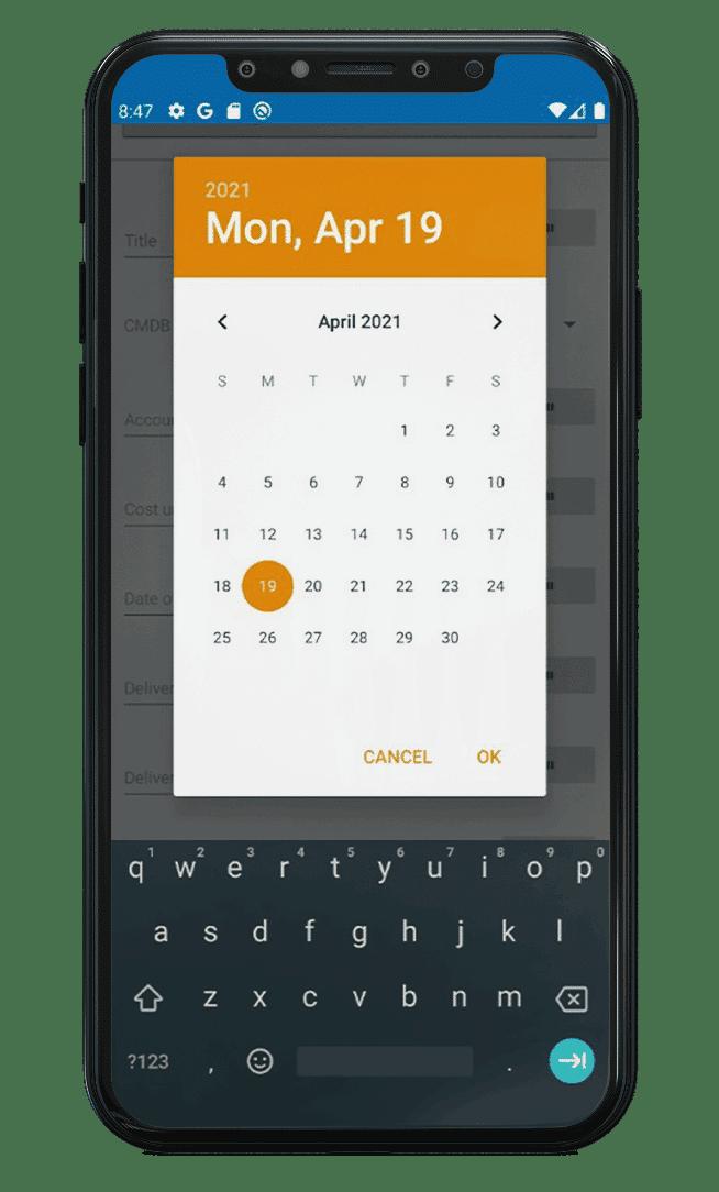 ScanIT Add-on i-doit erweiterte Kalenderfunktion