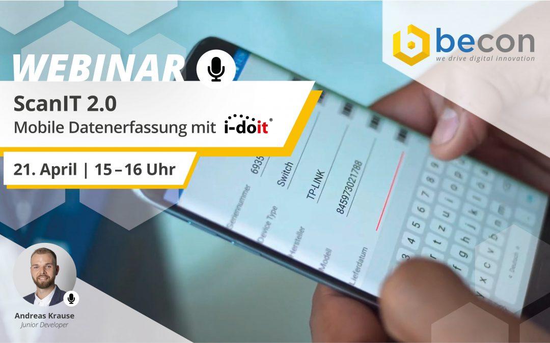Webinar: ScanIT 2.0 – Mobile Datenerfassung mit i-doit