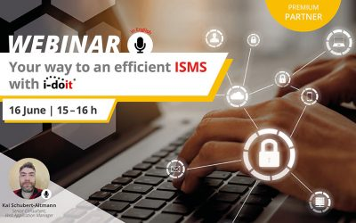 Webinar: Your way to an efficient ISMS with i-doit