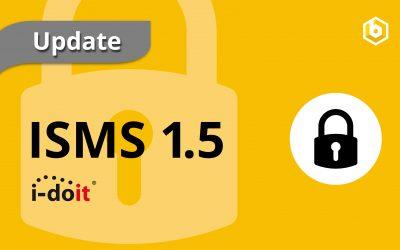 Update ISMS 1.5 | Audits und Ereignisse über das Add-on