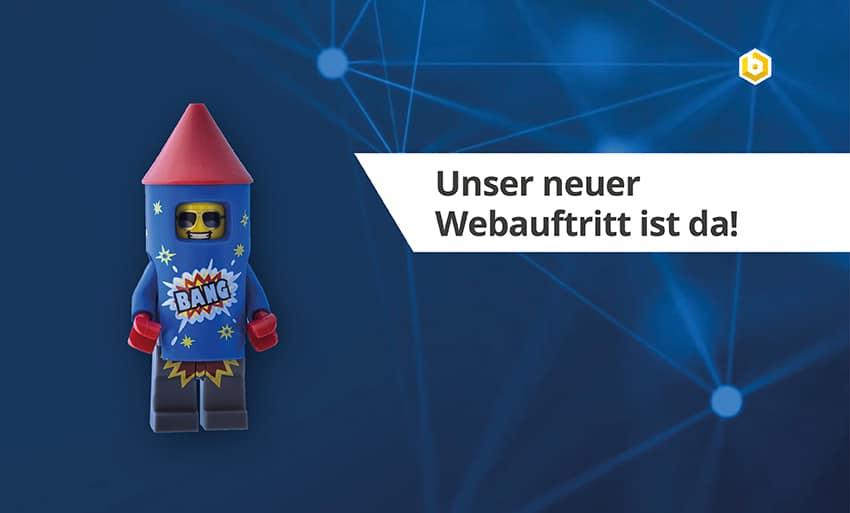 Unser neuer Webauftritt ist da!