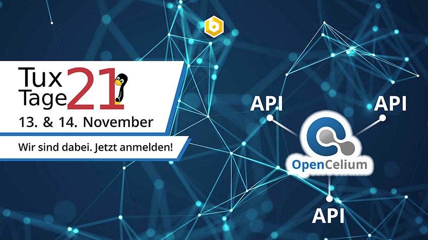 OpenCelium bei den Tux-Tagen