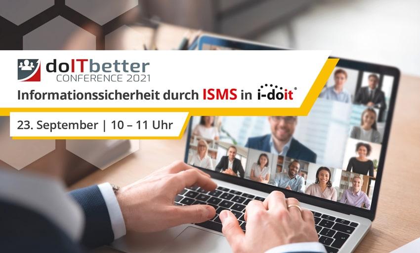 doITbetter Conference:  Informationssicherheit durch ISMS in i-doit (Track #4)